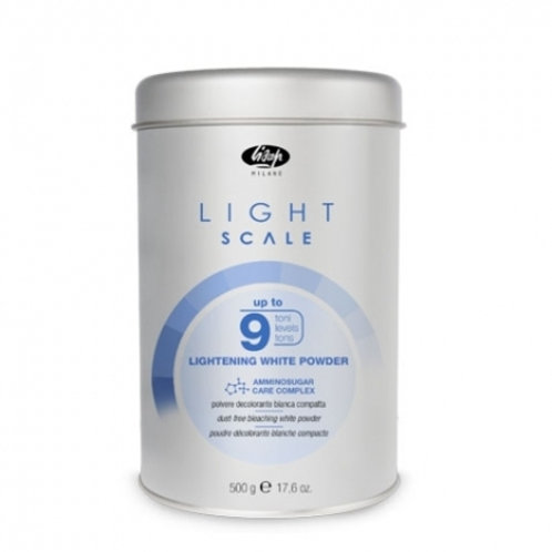 Порошок, обесцвечивающий на 9 тонов - Light Scale Lightening White Powder