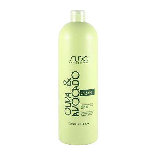 Увлажняющий бальзам для волос с маслами Авокадо и Оливы