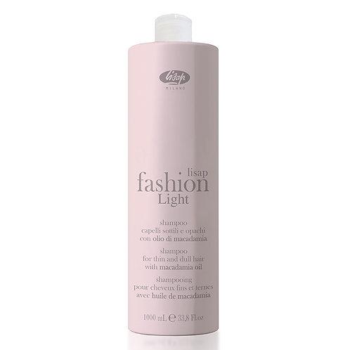 Экстра мягкий очищающий шампунь для тонких и ослабленных волос Lisap Fashion