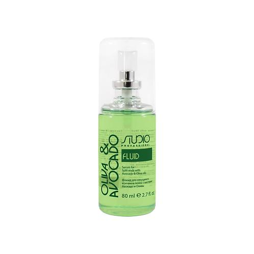 Флюид для секущихся кончиков волос с маслами Авокадо и Оливы.