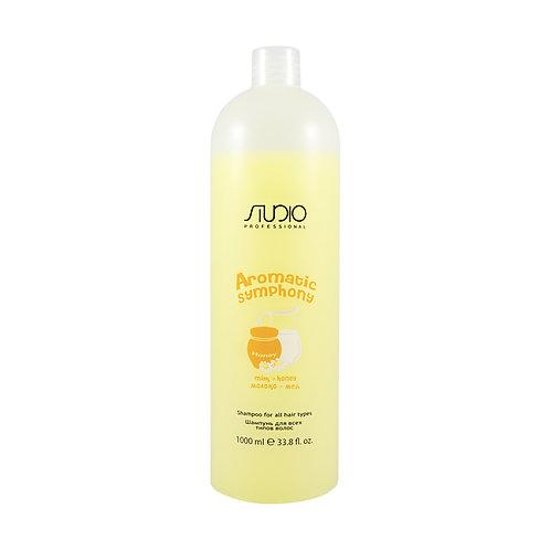 Шампунь для всех типов волос «Молоко и Мед».
