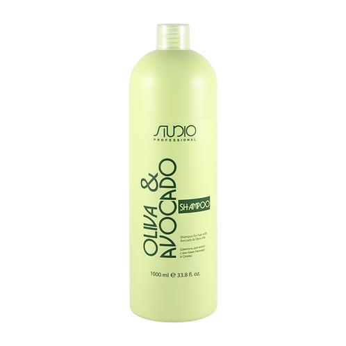 Шампунь для волос с маслами Авокадо и Оливы