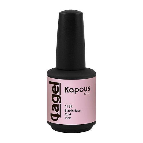 Эластичное базовое покрытие розовое «Elastic Base Coat Pink»
