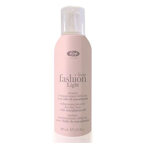 Мусс-кондиционер для придания объема и блеска волосам Lisap Fashion Light