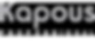Логотип Kapous professional