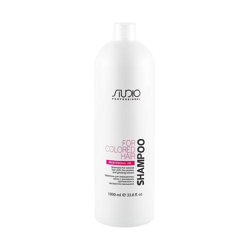 Шампунь для окрашенных волос с рисовыми протеинами и экстрактом женьшеня