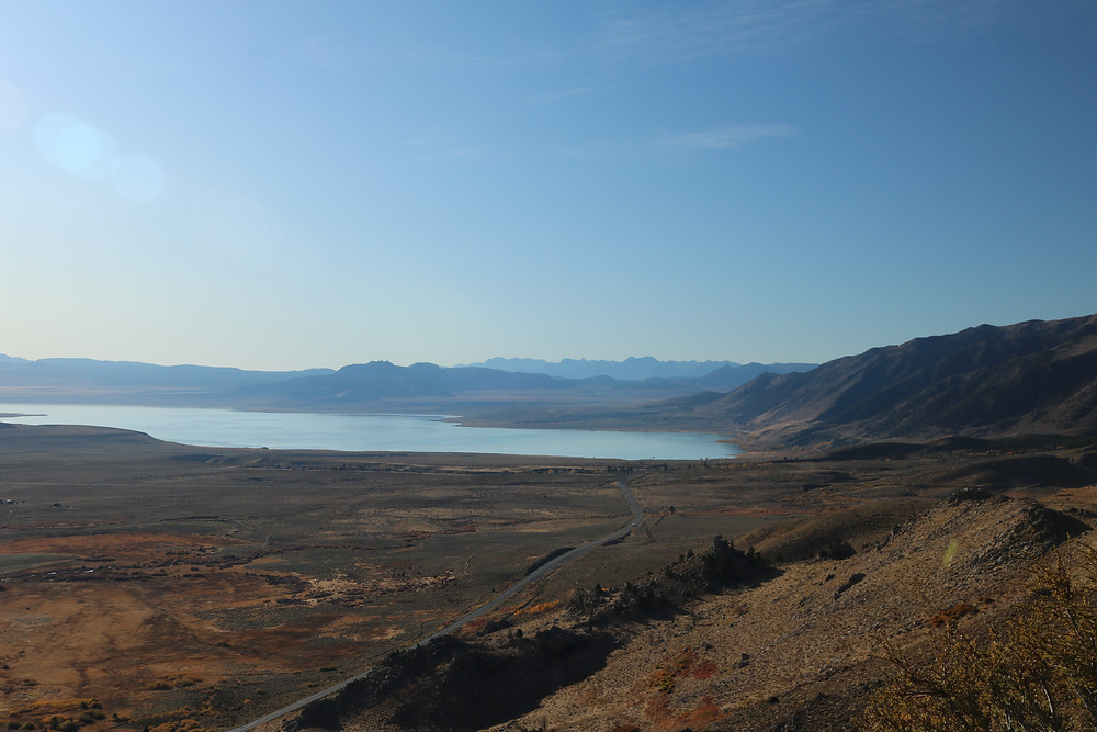 Mono Lake from Conway Pass