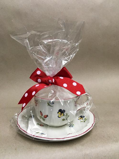 Lavender Teacup Candle