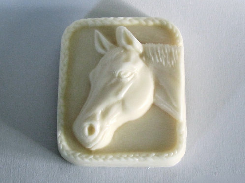 Lavender-Scented Horse Head Soap