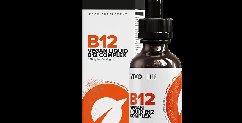 Vivo Life Vegan Liquid B12 Complex