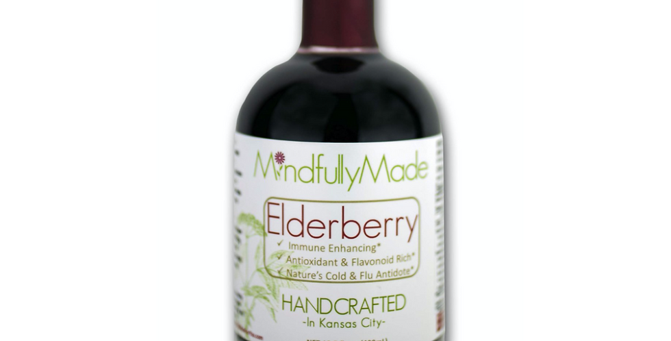 Mindfully Made Elderberry Syrup