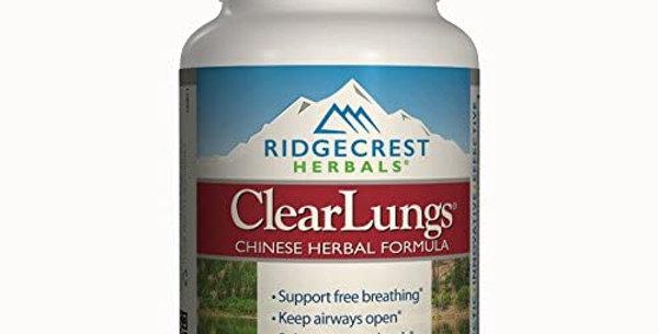 Ridgecrest Herbals - ClearLungs