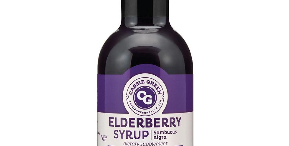 Cassie Green Elderberry Syrup 12oz