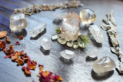 Laura | Crystal Grid for Abundance