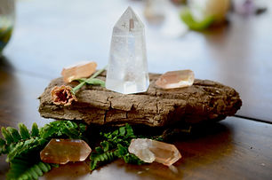Meditation Grid Kit. Quartz Tower, Natur