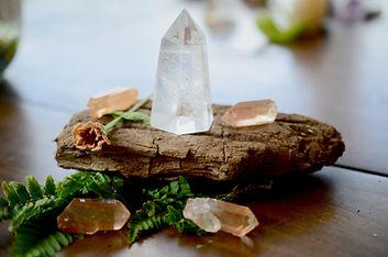 Meditation Grid Kit. Quartz Tower, Natur