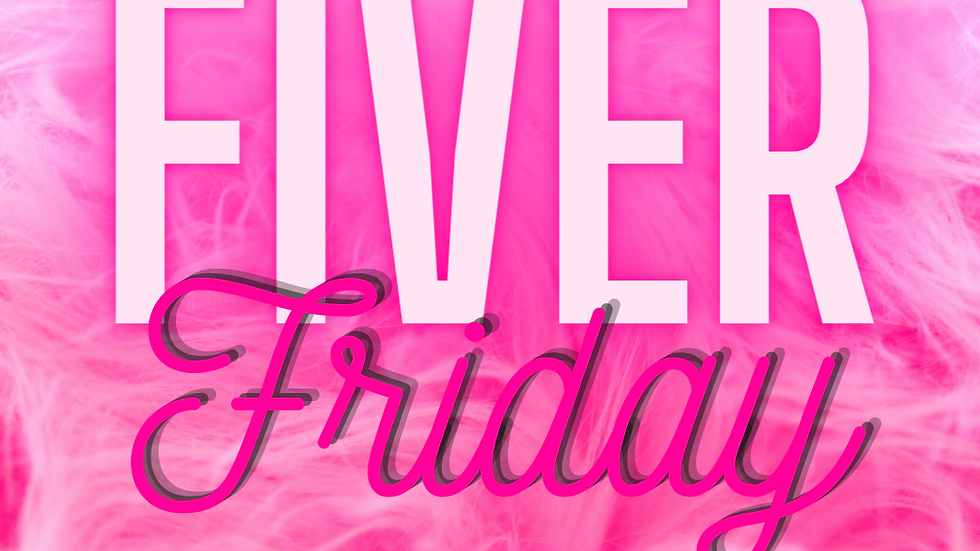 Fabulous Fiver Friday ♡