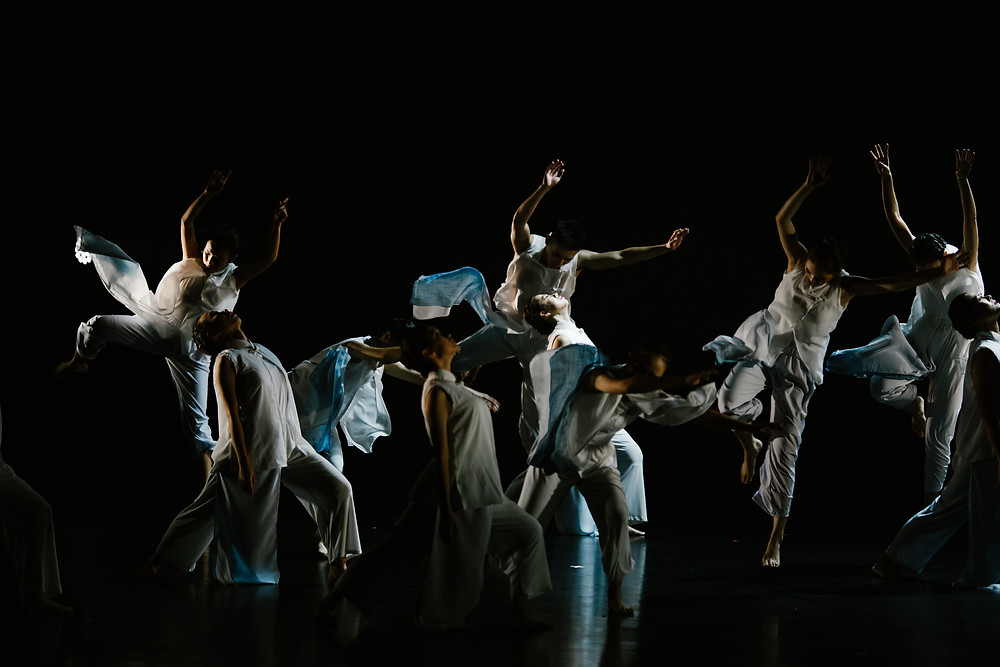 Dancers in 'Flow'