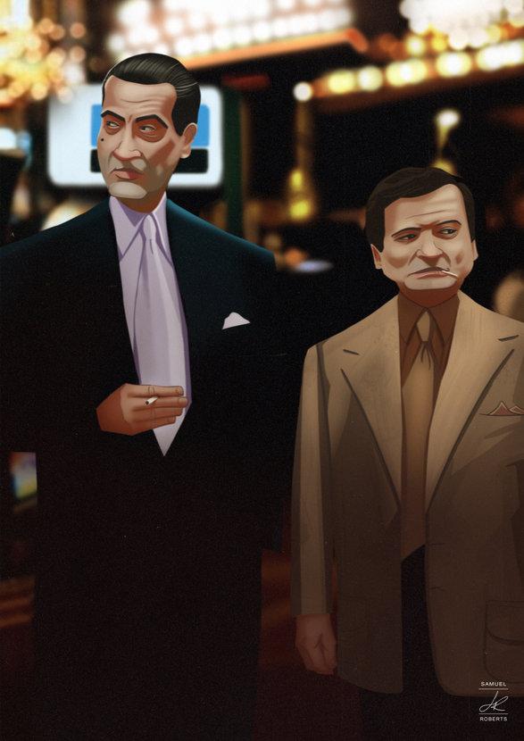 Sam Rothstein and Nicky Santoro - Casino