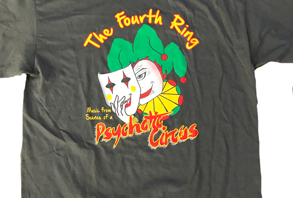 """2019 - """"ScenesFrom A Psychotic Circus"""" Show Shirt (Men's Sizes)"""