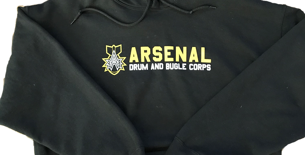 Arsenal Cotton Men's Hoodie (Black and Gray)