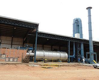 RCA Secador Rotativo para Biomassa