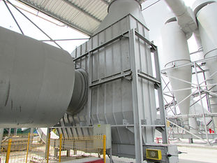 Secador Rotativo para Biomassa