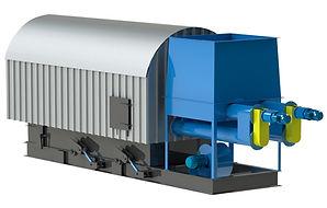 Queimador de Biomassa