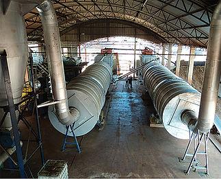 RCA Secador Rotativo para Plantas Etanol