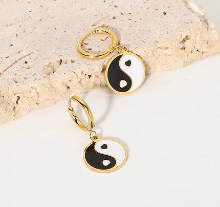 Yin & Yang Earrings