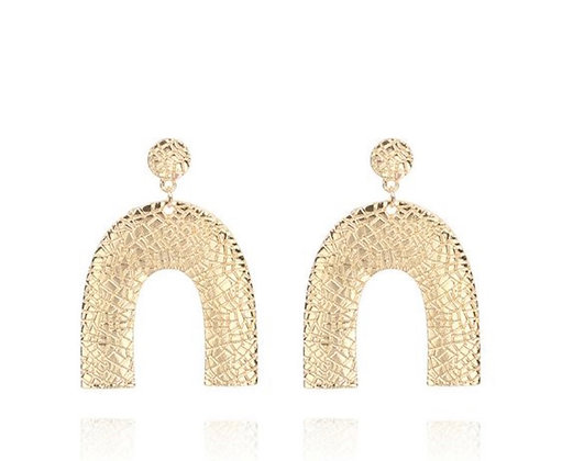 Gold Zion Earrings