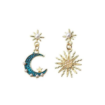 Celestial Sun & Moon