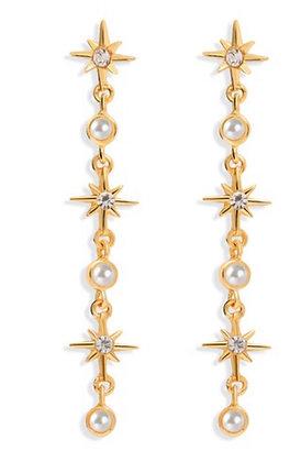 North Star Drop Earrings