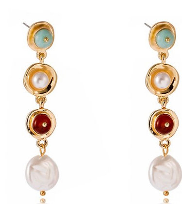 Retro Pearl Earrings