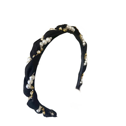 Pearl & Diamonds Headband