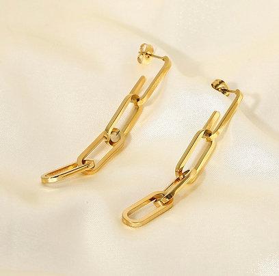 Long Chain Earrings