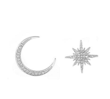 Silver Celestial Pair