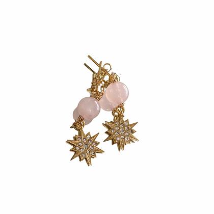 Radiant Rose Earrings