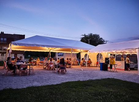 Now Offering Our Outdoor Spaces For Private Events