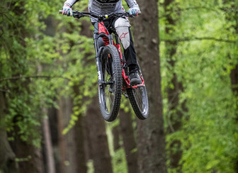 Primex supports Enduro Mountain Bike Rider Liam