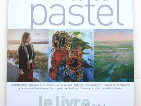 My Work in a French Pastel Publication!