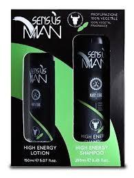 Man - Kit Energy Lotion + Shampoo