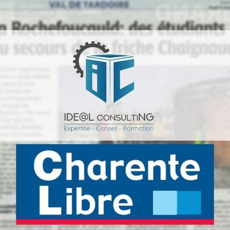Idéal ConsultiNG, acteur dynamique dans l'aménagement des berges de La Tardoire. Charente Libre