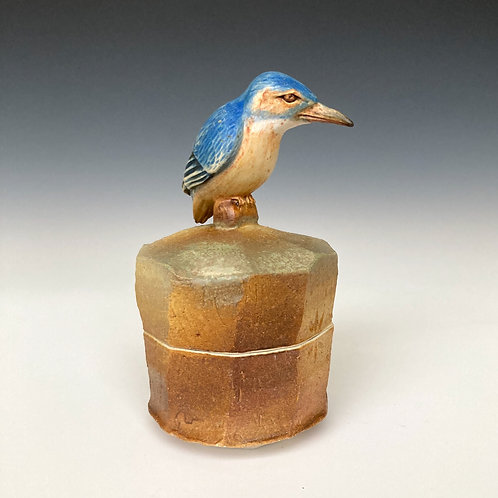 Kingfisher Faceted Box