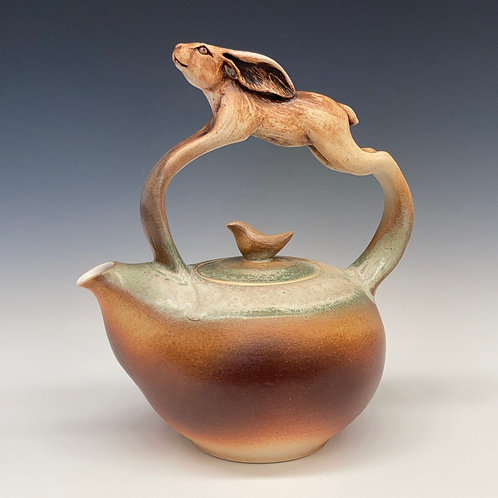 Leaping Hare Teapot