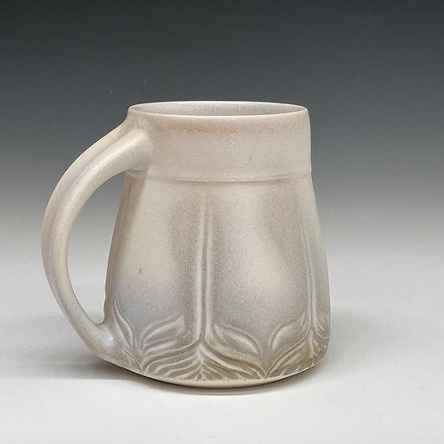 Snowy Lotus Mug #2