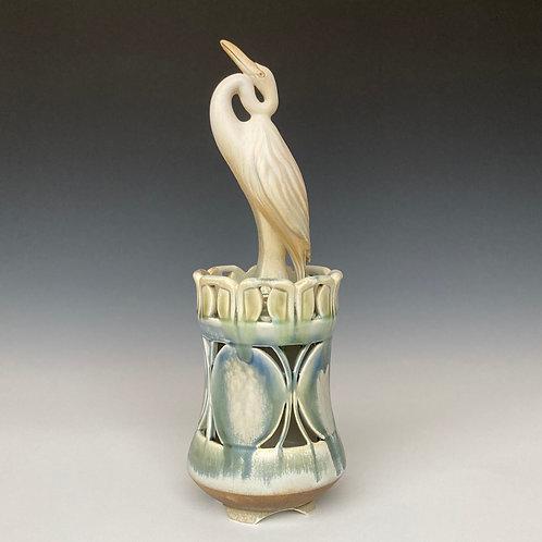Egret Censer