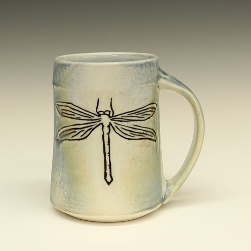 Botanical Dragonfly Mug
