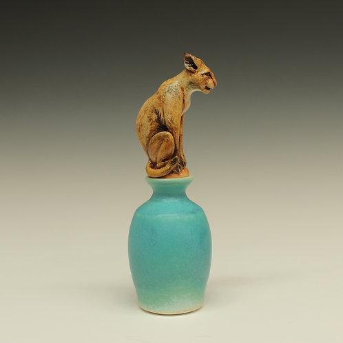 Bobcat Perfume Bottle