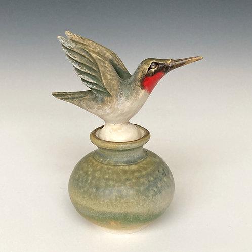 Hummingbird Perfume Bottle